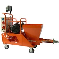 Cement/Mortar/Putty/Waterproof/Latex Spraying Machine