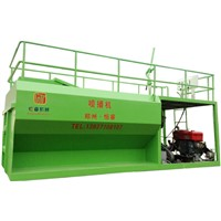 HKP-100 Hydroseeder Green Spray Machine