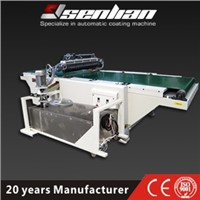 High Glossy Finish Curtain Coating Machine