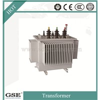 S11 Three-Phase 10kv Oil-Immersed Laminated Core Type Fully-Sealed Energy Saving Power/Distribution Transformer