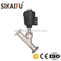 Sanitary Angle Seat Valve for Brewery
