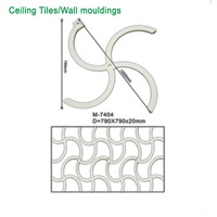 M-7404 Factory PU Interior Decorative Price Ceiling Tiles