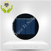 2V 125mA Epoxy Resin Round Mini Solar Panel