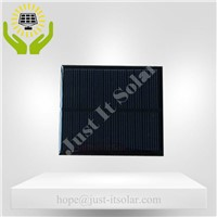6V 100mA 70*80mm Epoxy Resin Monocrystalline Solar Cell