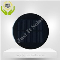 6V 100mA Diameter 100mm Epoxy Resin Round Solar Panel