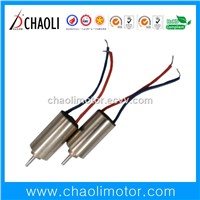 Tiny 4mm Coreless Motor CL-0408 for Small Transmission Device & Massager