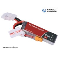 15C~90C High Rate Discharge Lithium Ion Polymer Battery, Jump Start Battery, R/C Battery