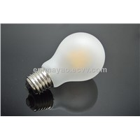 Frosty Filament LED Decorative Bulb Cool White Light Bulb