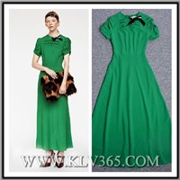 Designer Clothes Women Casual Long Dress Wholesale