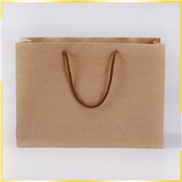 Manufacturers Cheap Wholesale Recycle Craft Brown Paper Bag for Gift Packaging