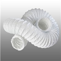 China Wholesale White PVC Flexible Duct 6 Inch PVC Vinyl Vent Duct Hose