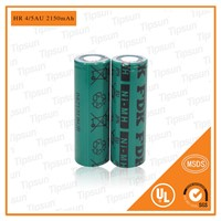 100% Original FDK Battery 1.2V HR-4/5AU 2150mAh 17430 4/5A Ni-MH Rechargeable Battery