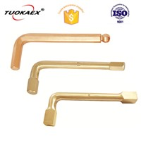 4-30mm Aluminum Bronze Non Sparking Square Key Wrench