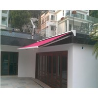 Automatic Awning with Rain Cover