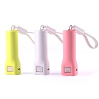 Cheapest Portable 2600mAh Rechargeable Mobile Power Bank Charger