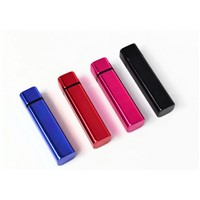 Factory Supply Promotional Gift Aluminum Alloy Power Bank 2200mah