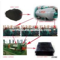 Reclaimed Rubber Making Machine Prodution Plant Line