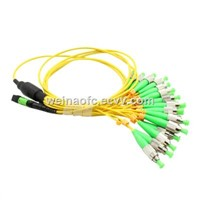 12 Core Patch Cord MPO-FC/APC Distribution Bundle Cable