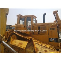 CAT D7 D6 D5 Japanese Bulldozers, Used Cheap D7H D7G Crawler Bulldozer Dozer for Sale