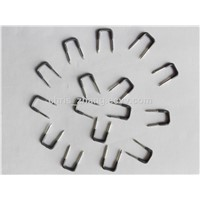 Insulating Plastic Coated U - Typ Shaped Nail, Special Type Nails