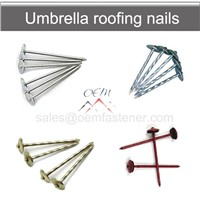 Umbrella Roofing Nails with Washers