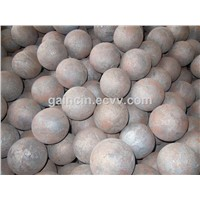 High Efficiency Rolled Forged Steel Grinding Media Balls