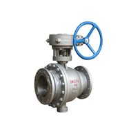 2PC Casting Steel Flanged Ends Floating Type Ball Valve