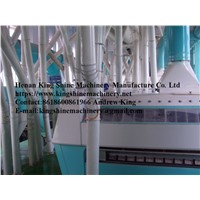 Maize Flour & Grits Milling Machine Production Line