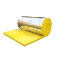 Fiberglass Wool Blanket with Reinforecd Aluminum Foil Clad with CE