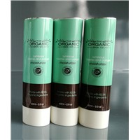 Aluminum Cosmetic Tube with Round Cap