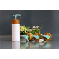 Bamboo Emulsion Lotion Bottle with Wooden Cap
