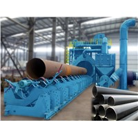 Steel Pipe Inner Wall Derust Machine