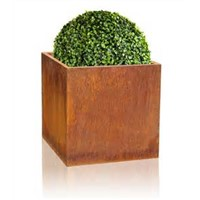 Corten Steel Flower Pot & Planter