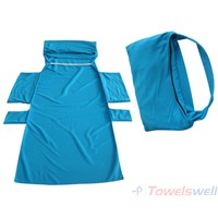 Microfiber Lounge Chair Towels with Pockets