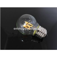 G40 G45 Globe LED Filament Bulb 1W 2W E27 Christmas Decorative Bulb