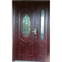 Glass Steel Door Steel Security Door