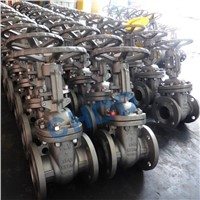 API600 Full Bore Gear Box Operated R. F Ends Cast Gate Valve