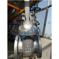 API600 Large Size Gear Opearted Carbon Steel WCB Gate Valve
