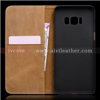 New Style Genuine Leather Case for Samsung Galaxy S8