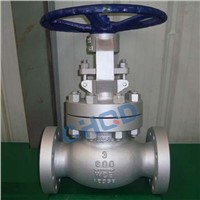 Manual Operated Flange Type WCB Globe Valve Manufacturer