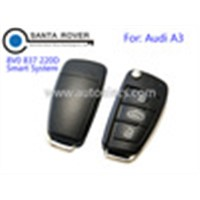 Good Use Car Key for Original Audi A3 Flip Remote Key 8V0 837 220D Smart System Keyless ID48 CAN Chip