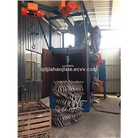Small Hook Type Automatic San Blasting Shot Blasting Machine