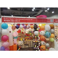 Supply Paper/Fabric Lanterns for Indoor/Outdoor Party/Festival Decoration