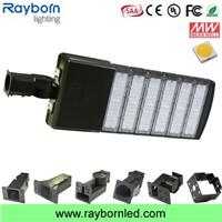 50w-300w LED Shoe Box Pole Light, Street Parking Lot Lighting