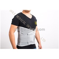 Adjustable Super Thin Lower Back Lumbar Traction Back Support Brace with Steel Bone, Slimming Belt for Protect Back