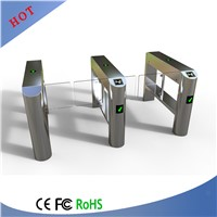 Fashion Design Pedestrian Turnstiles Gate with Time Attendance
