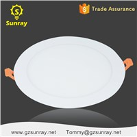 China Factory Standard Sizes Ultra Slim Flat LED Panel Lighting SMD 3w 6w 9w 12w 18w 24w Round Ceiling LED Panel Light