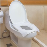 Disposable Hygienic Paper 1/2 Fold Toilet Seat Paper Covers