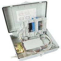 FTTH Fiber Optic PLC Splitter Distribution Box up to 32 Cores