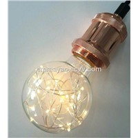 Christmas Starry Light Bulb LED Bulb Copper LED Light Warm White Light Colorful Light Bulb